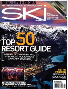 SKI OCT 2009 RESORT GUIDE